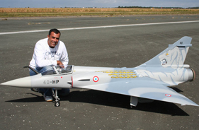 Kit MIRAGE 2000 HENRI PEREZ - RC Jet model - Aviation Design
